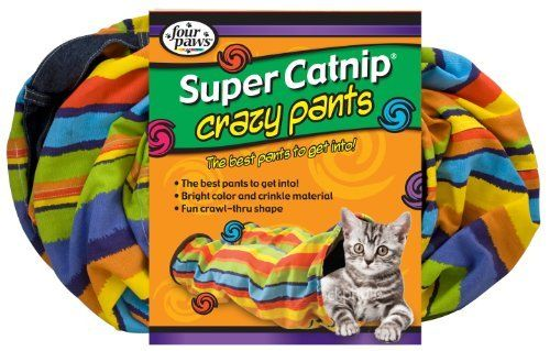 Buy the brilliant Four Paws Pet Products CFP16401 Crazy Pants - Cat Tunnel by Four Paws online today. This sought after item is currently in stock - purchase securely online here today.