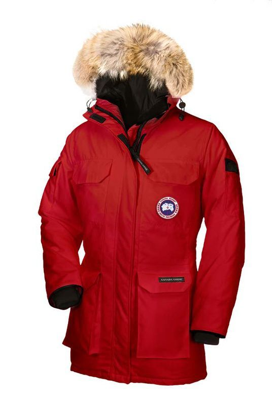 Canada Goose Women Red Expedition Parka CAD316.58 www.downjacketche...