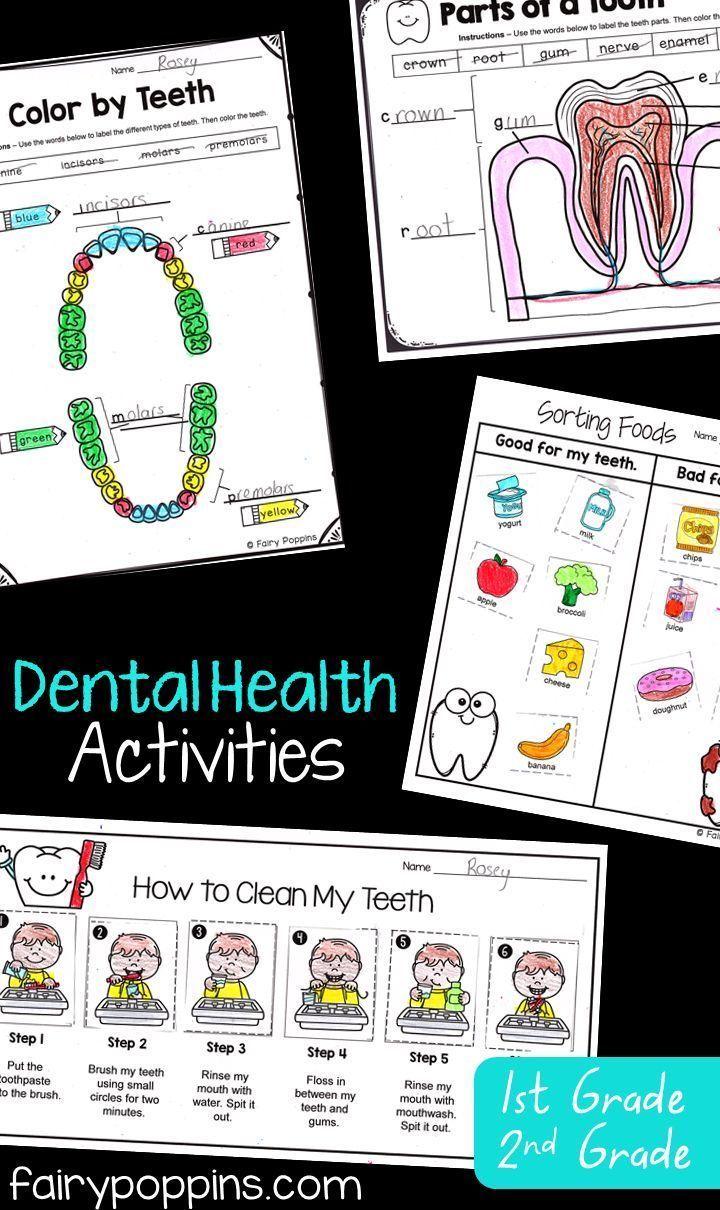 medium resolution of Dental Activities for Kids   Fairy Poppins   Kids dental health