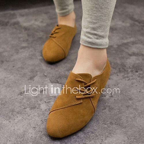 Zapatos amarillos de verano de punta redonda casual para mujer cuQqswQ