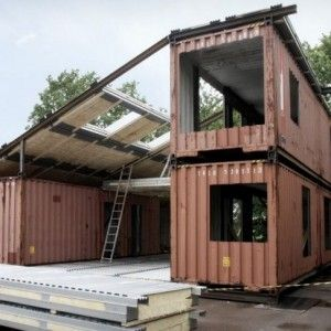 shipping container home architect