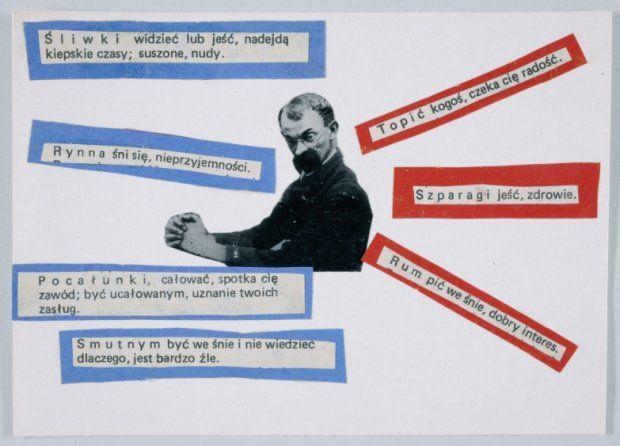 Wisława Szymborska, hand-made postcard // http://ignoranci-kultury.blogspot.com/2013/07/szuflada-szymborskiej_2.html
