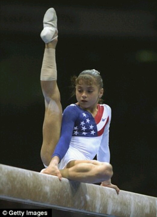 Dominique Moceanu Usa Gymnastics Pinterest Gymnastics Olympics And Olympic Gymnastics