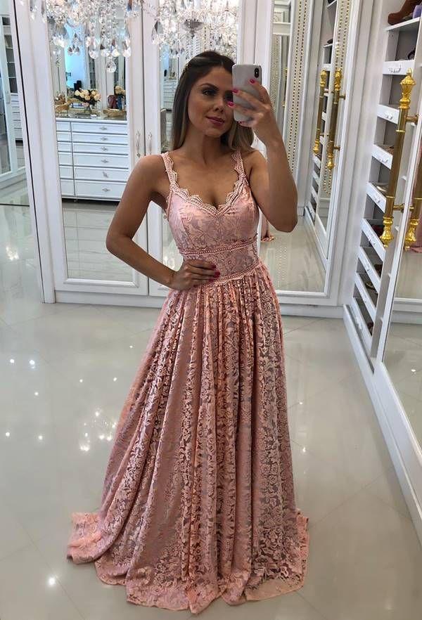 50 vestidos rose para madrinhas de casamento   Vestidos