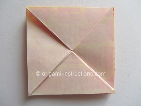 Second part of Origami instructions for collapsible container in the Chinese Thread Book
