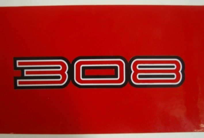 308   GTS Monaro Style Laminated Stickers Holden HK HT HG HQ  #FirkinGoode
