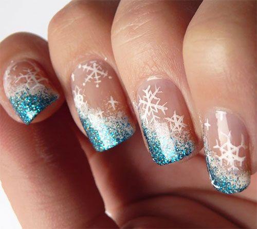Winter Nail Art: Top 25 Ideas About Winter Nail Art On Pinterest
