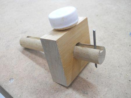 homemade marking gauge fabriquer un trusquin gauges. Black Bedroom Furniture Sets. Home Design Ideas