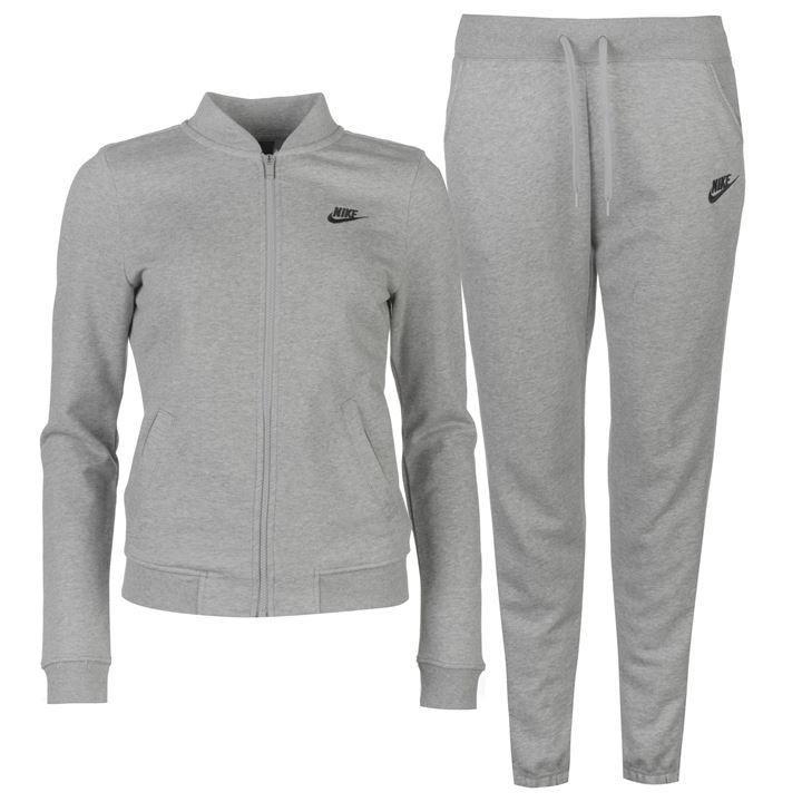 Nike Fleece Tracksuit Ladies   Zip fastening   Lightweight