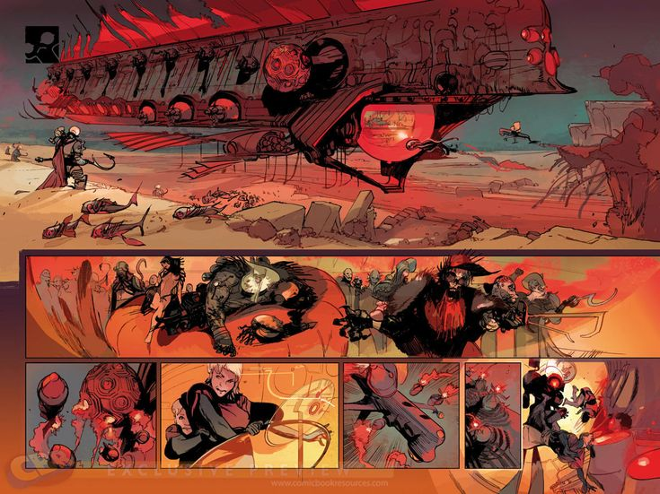 """Images for : Remender & Tocchini Take the Plunge in """"Low"""" - Comic Book Resources"""