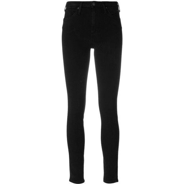 Ck Jeans skinny jeans (543840 PYG) ❤ liked on Polyvore featuring jeans, black, calvin klein jeans, denim skinny jeans, skinny fit denim jeans, skinny fit jeans and cut skinny jeans