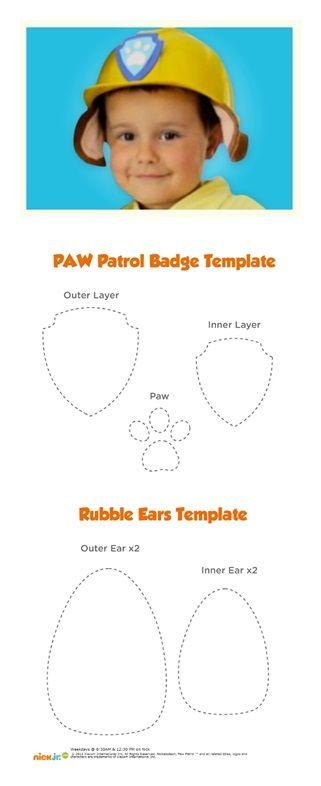 Paw Patrol rubble hat                                                                                                                                                                                 More