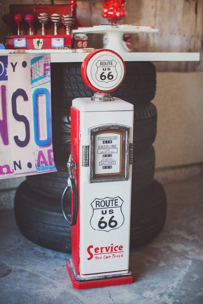 Vintage Car Themed Party Decoration Ideas More