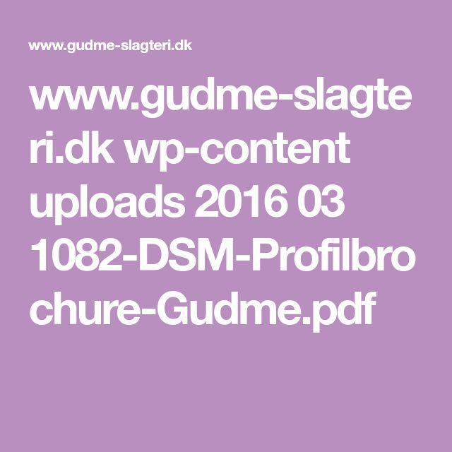 www.gudme-slagteri.dk wp-content uploads 2016 03 1082-DSM-Profilbrochure-Gudme.pdf