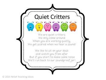 Quiet Critters Label Quiet Critters