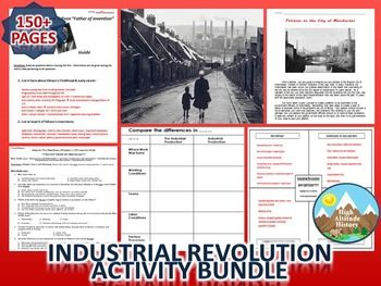 All of the Activities You Need to Teach Your Students About the Industrial Revolution!