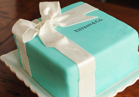 Tiffany cake, wish my ring came in that lol