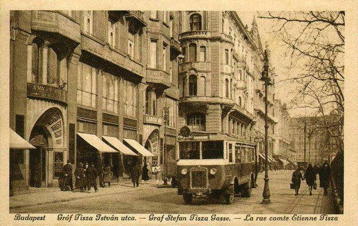 1928. Gróf Tisza István utca (korábban Fürdő, ma József Attila utca)