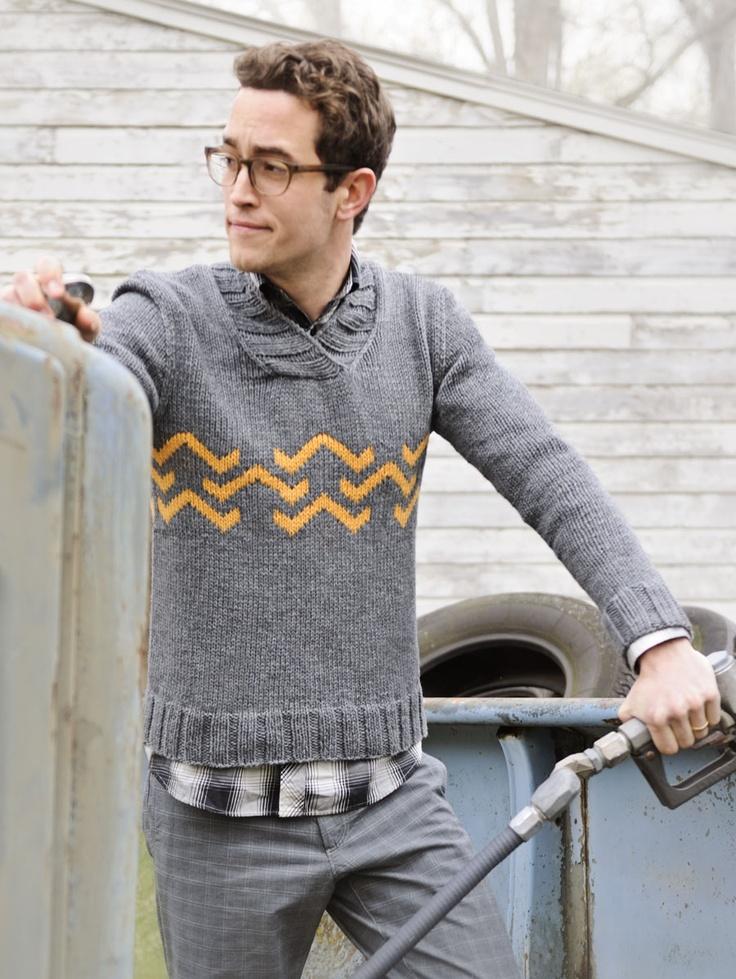Charlie Sweater by Ann Weaver for Spud & Chloe: Charli Sweaters, Knits Crochet, Anne Weaver, Men Style, Knits Patterns, Sweaters Patterns, Charli Brown, Charlie Sweaters, Men Sweaters