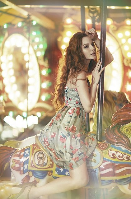 Concept: Nighttime Fair. Have done this with a couple for engagement shots, but would love to do it as a fashion shoot