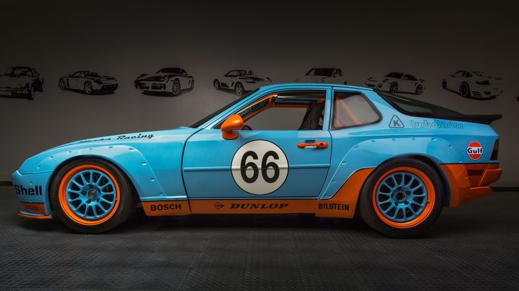 Porsche 944 Gulf Tribute by Motor Werks Racing. Full 924 & 944 1.8 conversions (275 HP to 600+) for track days with reliability.