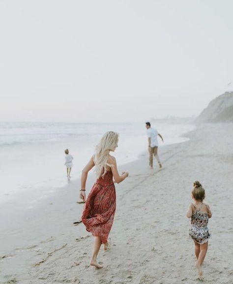 Foggy day at the beach!
