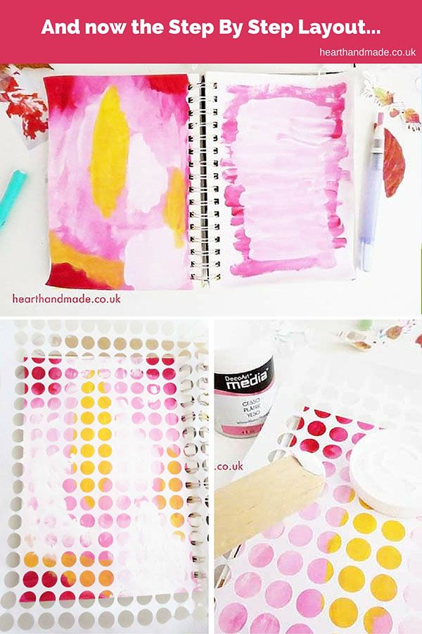 Step By Step Art Journal Page Layout - The Simplest Ways To Make The Best Of Art Journaling
