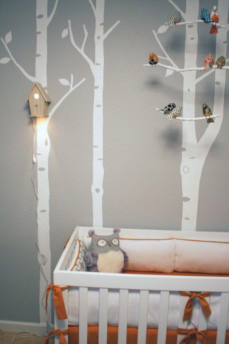 Modern TreeTop Baby Birdhouse