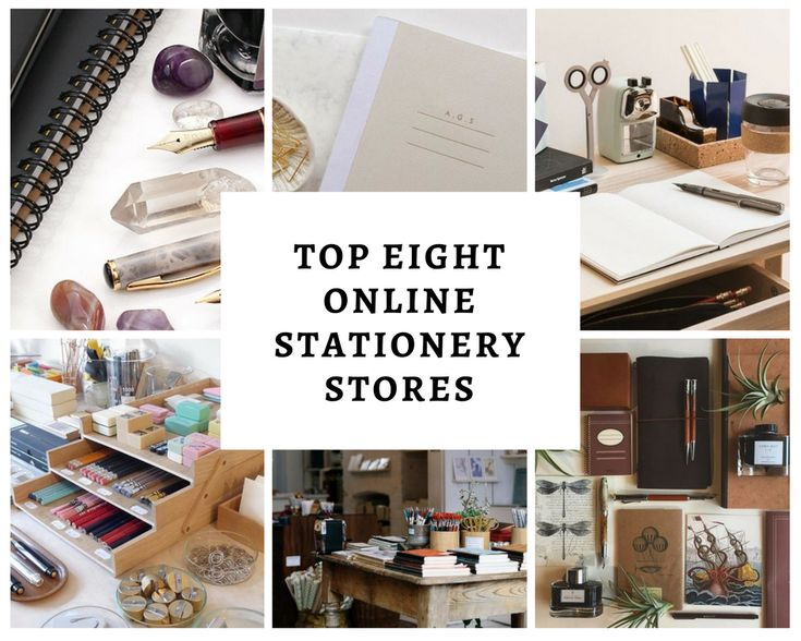 Top Eight Online Stationary Stores