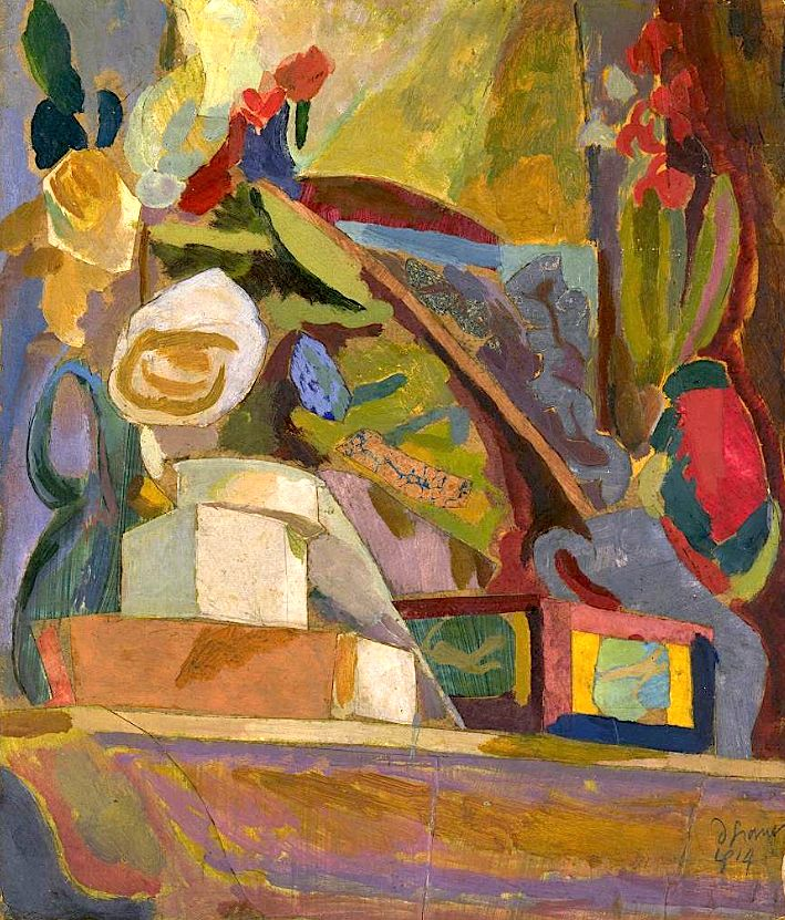 Duncan Grant / The Mantelpiece, 1914