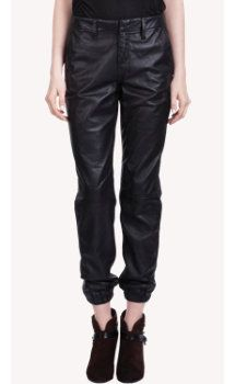 Rag & Bone Leather Pajama Pants