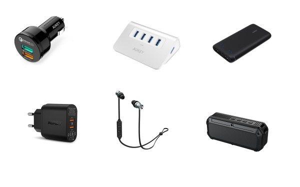 Bons Plans sur une Sélection de Produits AUKEY !  Bonjour  Excellent bon plan que mon partenaire AUKEY vient de menvoyer sur une sélection de produits(offre valablejusquau 10 janvier 2017 dans la limite des stocks disponibles).  Il y a vraiment de très bonnes offres !!!  Chargeur 2 Ports USB AUKEY Quick Charge 2.0 à 8.99 au lieu de 14.99  Code promo :MW7CH3QA  Écouteurs AUKEY Sport Bluetooth 4.1 à 15.99 au lieu de 21.99  Code promo : 8AQNIHAX  Enceinte Bluetooth 4 AUKEY étanche IP64 à 14.99…