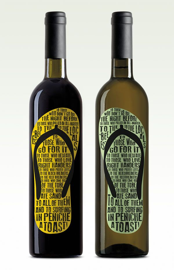 Packaging of the World: Creative Package Design Archive and Gallery: Surfwine
