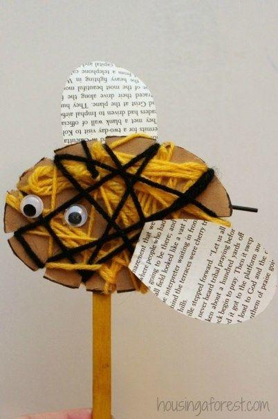 Пчелки - идеи поделок с детьми
