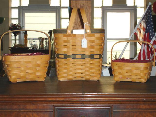 Longaberger BasketsBaskets Longaberger, Longaberger Baskets, Favorite Things, Baskets Addict, Baskets Decor, Baskets Galore, Baskets Cases, Baskets Collection, Longaburg Baskets