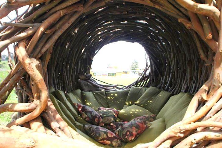 Big Sur Spirit Garden Home To Human Size Nests 2