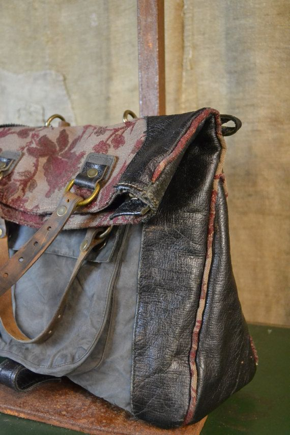 Recycling Leder Handtasche Vintage recycle | Leather