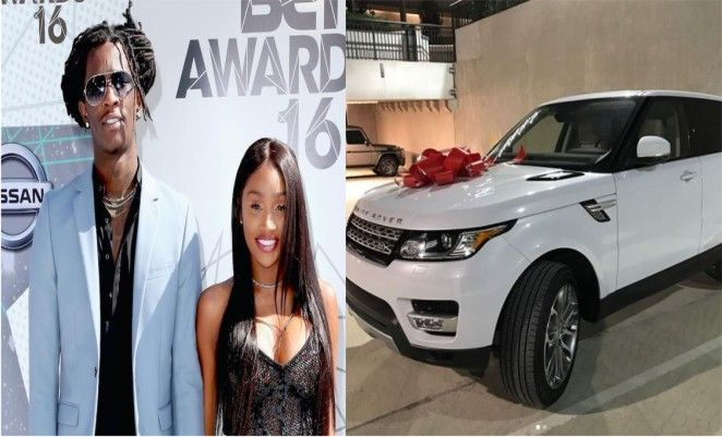 Rapper Young Thug buys his fiancée Jerrika Karlae Range Rover for her 24th Birthday [Photos] http://ift.tt/2w886LY