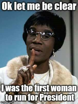 Shirley Chisholm paved the way for Hillary Clinton to become the first woman to win a major party nomination!