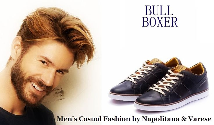Bull Boxer casual ανδρικά παπούτσια απο τη Napolitana & Varese