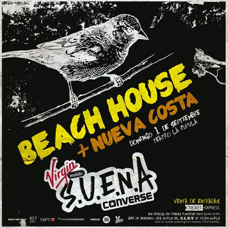 La increíble música de Beach House + Nueva Costa estuvo con nosotros en el ciclo S.U.E.N.A. #VirginConverseSUENA #2013