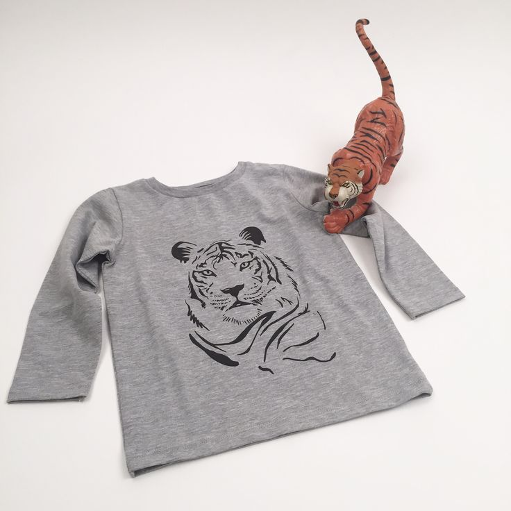 Tiger We Like!  One LS T-shirt Tiger  https://onewelike.myshopify.com/products/tiger-by-gothner