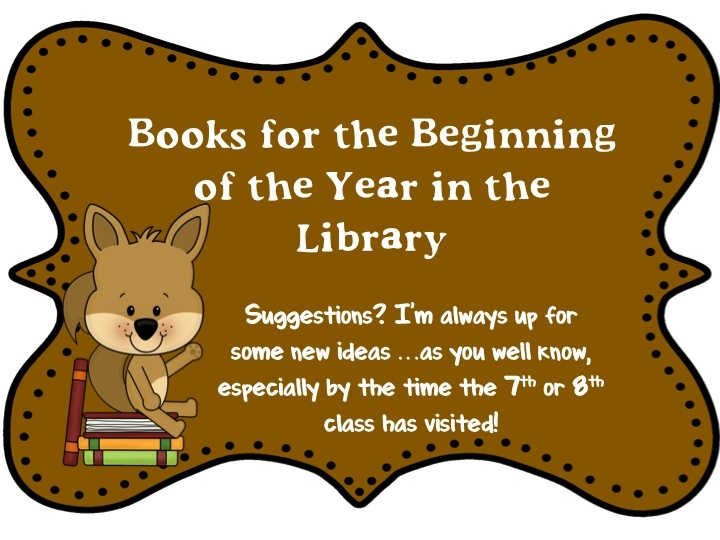 Ms. O Reads Books: Old and New Faves for the Beginning of the Year ... If you can please stop by and comment with some new (or new to me!) titles. :]