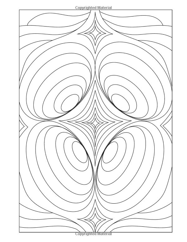 Amazon.com: Three Dimensions Adult Coloring Book: 30