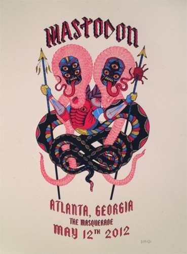 Cotton Candy Machine | Mastodon Atlanta, Georgia by David Cook
