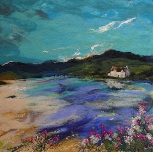 "watercolor: ""The Highland Rest"", Moy MacKay"