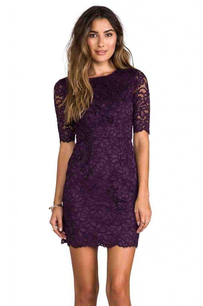 Purple Wedding Guest Dresses