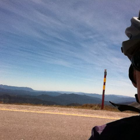 Beautiful day for riding when we rode from Harrietville to Mt Hotham, Victoria, Australia.