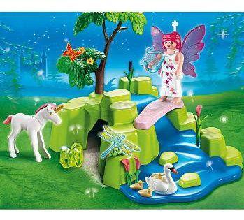 magic castle playmobil fairies (maar met groene vleugeltjes)