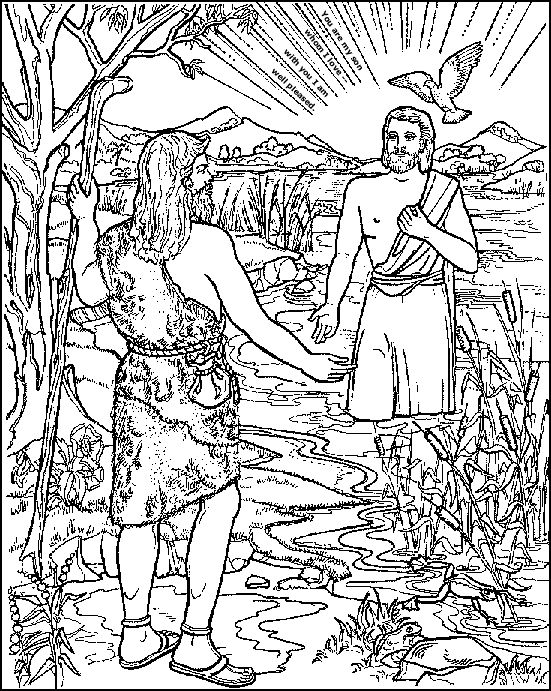 73 best Jesus images on Pinterest Bible crafts, Catechism and - best of coloring page jesus in the desert